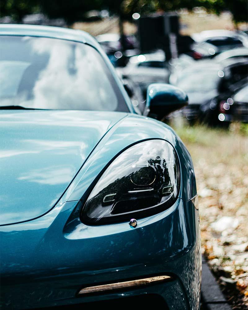 Meguiar's Pakistan - Image ofBlue Porsche Modern