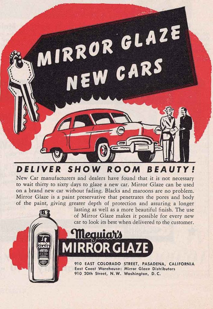 Meguiar's Mirror Glaze Advertisement
