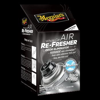 G181302 BLACK CHROME AIR REFRESHER